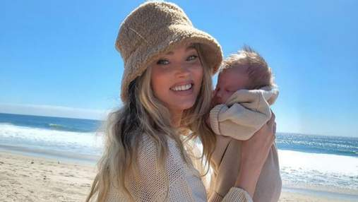 Ельза Госк показала маленьку доньку: відео замилувало мережу