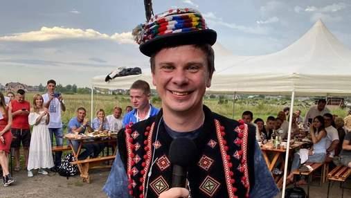 Дмитро Комаров готує новий проєкт про подорожі Україною