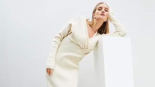 Розі Гантінгтон-Вайтлі захопила кадром у розкішній сукні молочного кольору: фото