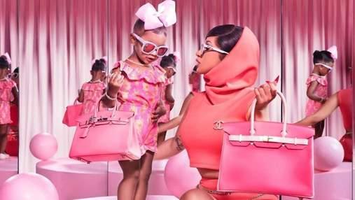 Cardi B показала колекцію брендових сумок 2-річної доньки: бурхлива реакція мережі