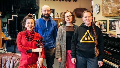 Учасники DakhaBrakha показали цікаві місця у Києві: фото, відео
