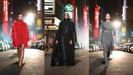 Наоми Кэмпбелл, Ирина Шейк и Белла Хадид представили новую коллекцию Michael Kors: фото и видео