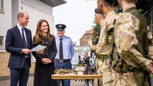 Кейт Міддлтон та принц Вільям вперше вийшли на публіку після похорону принца Філіпа