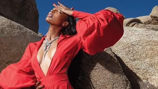 Жасмин Тукс удивила сеть роскошными образами для глянца Numero: очаровательные кадры