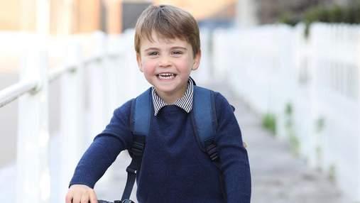 Кейт Миддлтон и принц Уильям поделились новым фото сына Луи по случаю его 3-летия