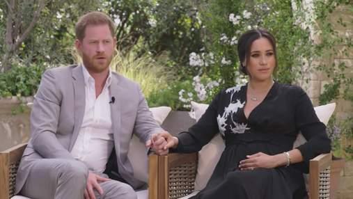 Опра Вінфрі вперше висловилась про скандальне інтерв'ю принца Гаррі й Меган Маркл