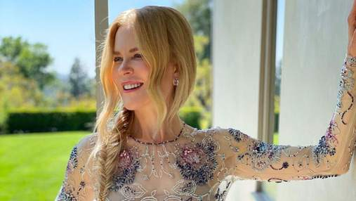 Николь Кидман смотрела Оскар-2021 из дома: фото