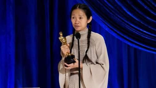 Вторая женщина-режиссер в истории Оскара: что сказала Хлои Чжао в победной речи
