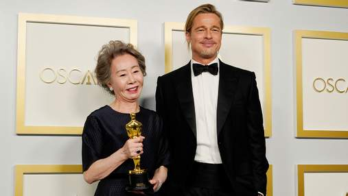 Флирт с Брэдом Питтом и тверк Гленн Клоуз: самые курьезные моменты Оскара-2021