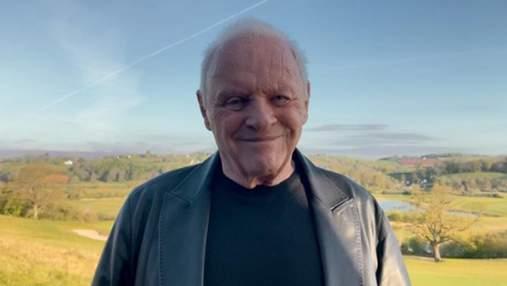 Энтони Хопкинс поблагодарил за награду на Оскаре-2021: трогательное видео