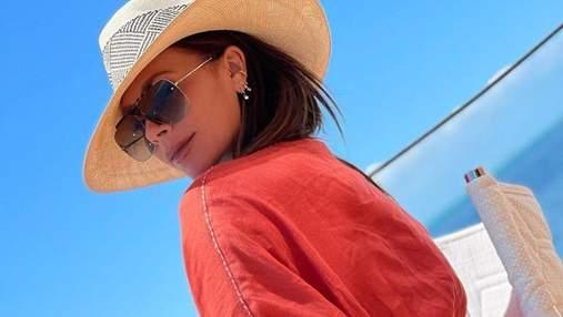Виктория Бекхэм показала фигуру в крохотном купальнике: фото из Майами