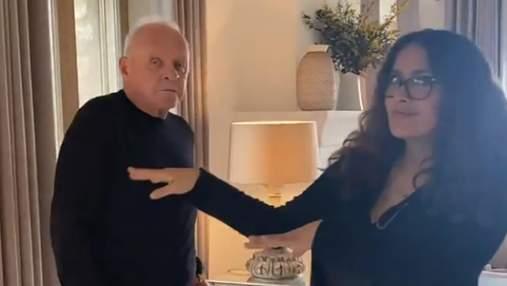 83-летний Энтони Хопкинс отпраздновал победу на Оскаре забавным танцем: видео