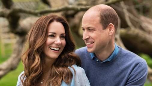 Кейт Миддлтон и принц Уильям поделились новыми фото по случаю 10 годовщины свадьбы