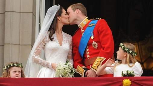 10 годовщина свадьбы Кейт Миддлтон и принца Уильяма: история любви королевской пары