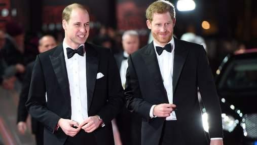 Принц Вільям у день весілля з Кейт Міддлтон пожартував над принцом Гаррі