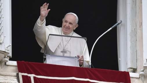 Папа Римський привітав із Великоднем християн східного обряду
