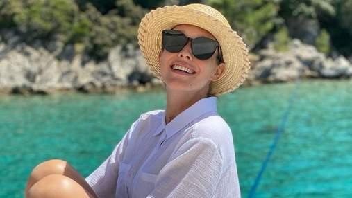 Вагітна Катя Осадча показала нові фото з відпустки: чарівні кадри