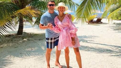 Григорій та Христина Решетники повторили фірмовий танець на Мальдівах: відео
