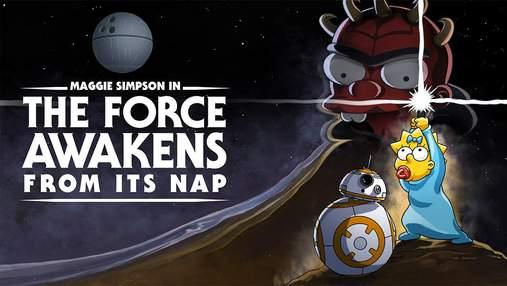 """Disney+  презентував пародійний випуск """"Сімпсонів"""" за мотивами """"Зоряних війн"""""""