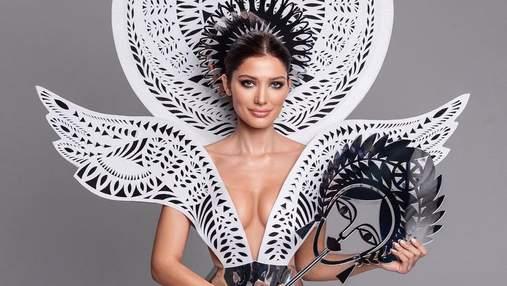 """""""Мисс Украина"""" показала откровенное платье для конкурса """"Мисс Вселенная"""""""