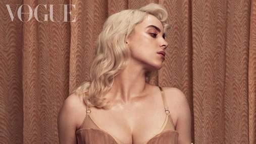 Голливудские платиновые локоны: как создавали прическу Билли Айлиш для обложки Vogue