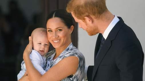 Принц Гаррі й Меган привітали сина Арчі з 2-річчям і назвали його кумедне прізвисько