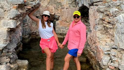Катя Осадчая показала, как отдыхает в Турции с сыном и мужем: новые семейные фото