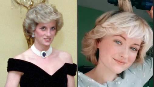 Дівчина відтворила знамениту зачіску принцеси Діани: тепер їх не відрізнити