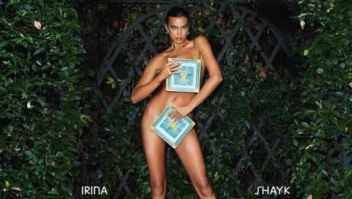 Ирина Шейк полностью обнажила пышную грудь: очень откровенные фото 18+