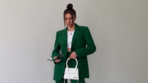 Хіт весни – зелений колір: як його носять інстаграм-модниці