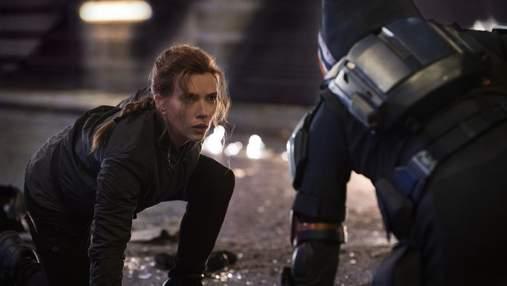 """Marvel Studios опублікувала ролик з погонею із фільму """"Чорна вдова"""""""