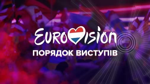 Евровидение-2021: порядок выступлений конкурсантов на шоу