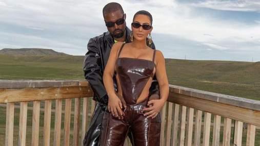 Каньє Вест назвав Кім Кардашян найгіршою дружиною