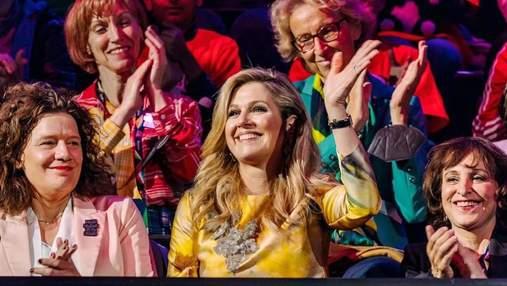 Королева Максима посетила Евровидение-2021 в роскошном образе: фото