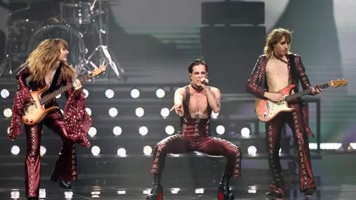 Måneskin победил на Евровидении-2021: фото и видео впечатляющего выступления