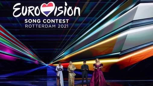 Евровидение-2021: роскошные образы ведущих в финале