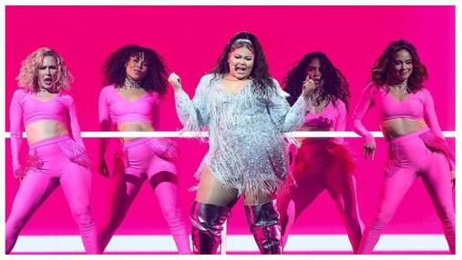 Мальтийская исполнительница Дестини подорвала сцену финала Евровидения-2021: выступление