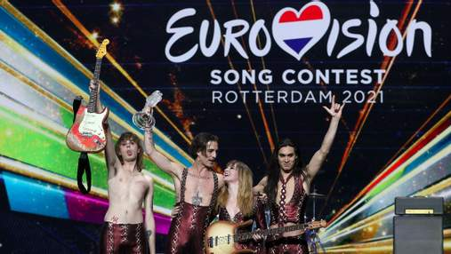 Мы любим вас, – Måneskin из Италии прокомментировали победу на Евровидении-2021