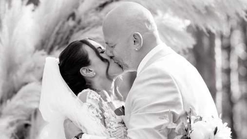 Настя Каменських показала нові фото з весілля з Потапом: романтичні кадри