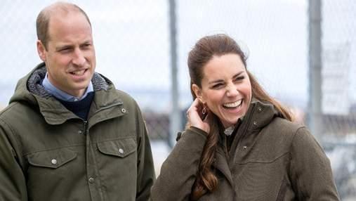 Кейт Миддлтон и принц Уильям очаровали повседневными образами в Шотландии: фото герцогов