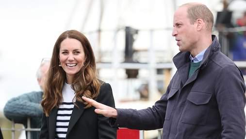 Кейт Миддлтон и принц Уильям посетили университет, в котором закрутили роман