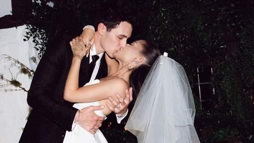 Аріана Гранде показала перші фото з таємного весілля