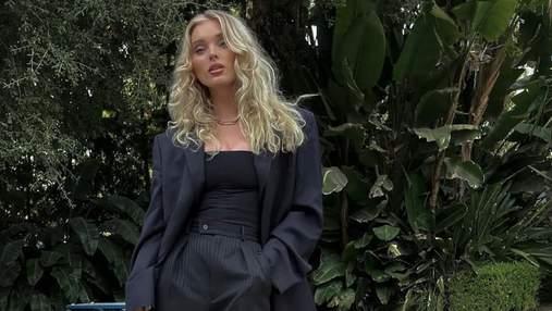Стильная модель Эльза Хоск восхитила впечатляющим образом: фото