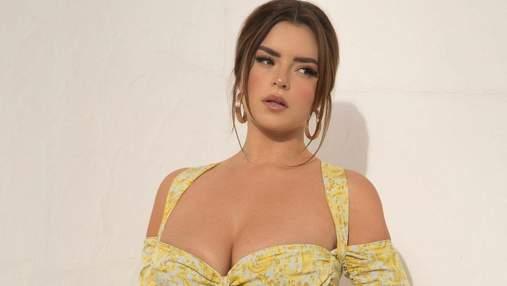 Деми Роуз засветила большую обнаженную грудь: чрезвычайно горячее фото 18+