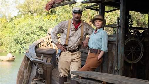 """Двейн Джонс та Емілі Блант: мережу вразив трейлер фільму """"Круїз по джунглях"""""""