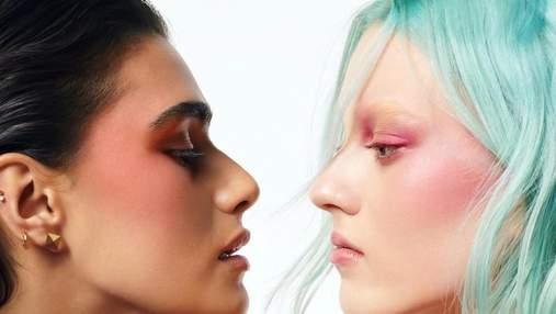 Valentino вразили першою колекцією макіяжу з відомими моделями у рекламній кампанії