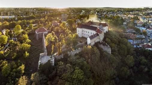 Ужгородский замок создал аккаунт в TikTok: каким было первое видео