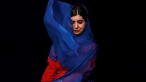 Пакистанская правозащитница Малала Юсафзай стала звездой обложки Vogue