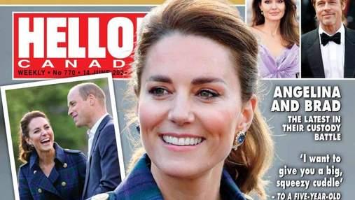 Кейт Міддлтон у розкішному пальті з'явилася на обкладинці глянцю: фото