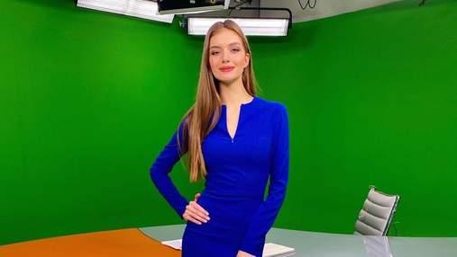 Дружина Дмитра Комарова показала витончену фігуру в елегантній сукні